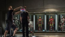 Iron Man 3 shooting