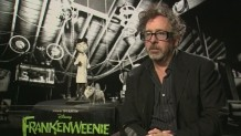 Tim Burton on Frankenweenie