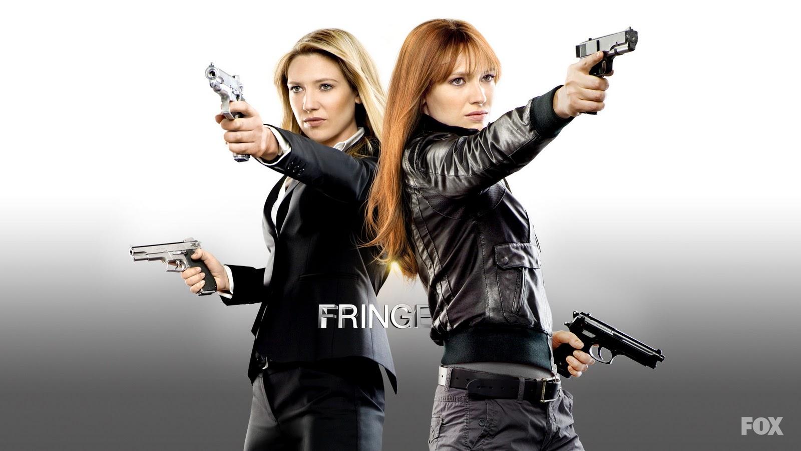 Fringe Olivia and Fauxlivia