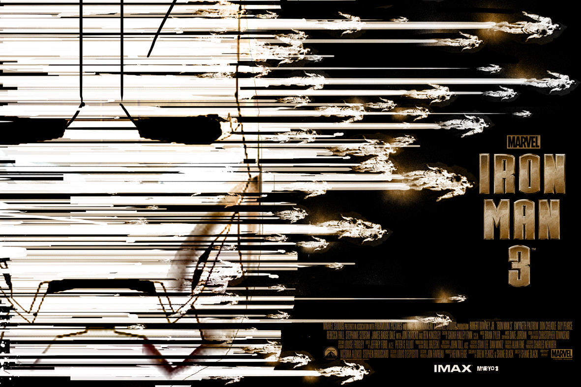 Iron Man 3 Alternative IMAX Poster by Jock 03