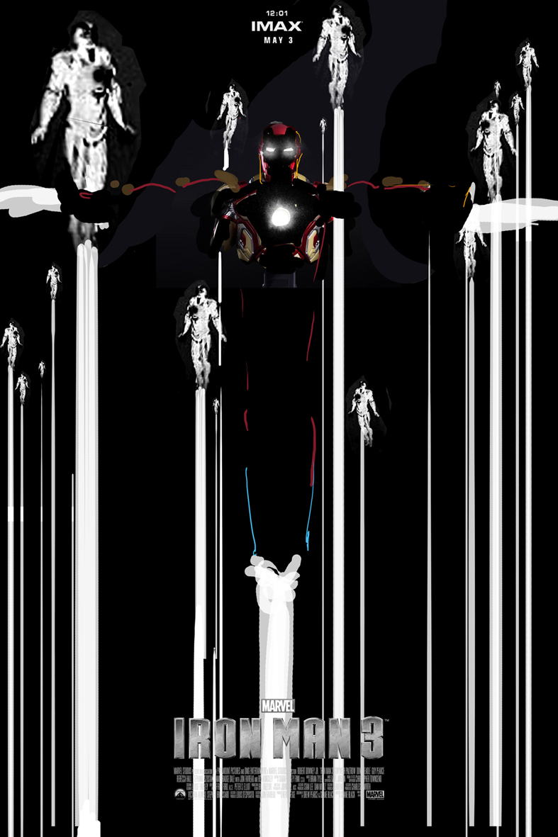 Iron Man 3 Alternative IMAX Poster by Jock 05