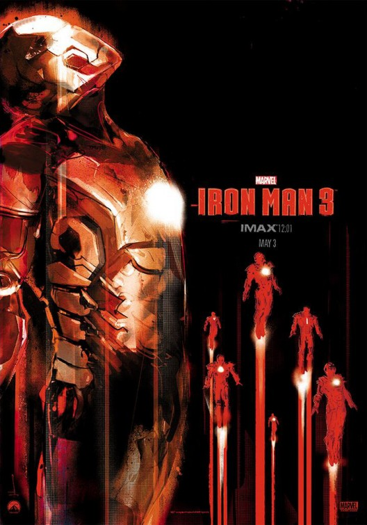 Iron Man 3 IMAX Poster by Jock