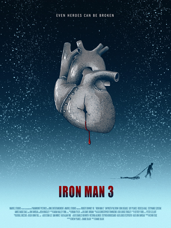 Iron Man 3 by Adam Rabalais