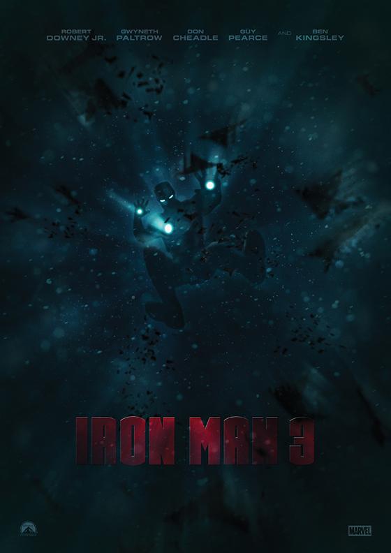 Iron Man 3 by Alex Gill