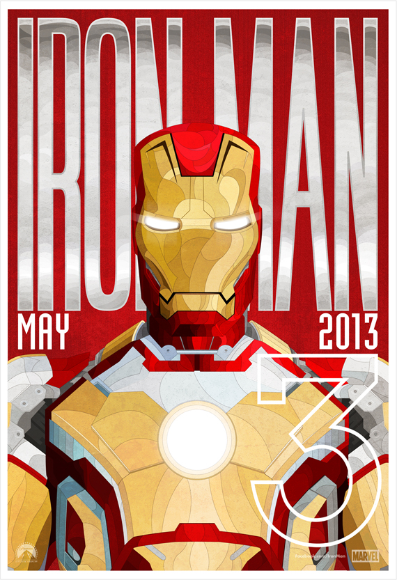 Iron Man 3 by  Ben Whitesell