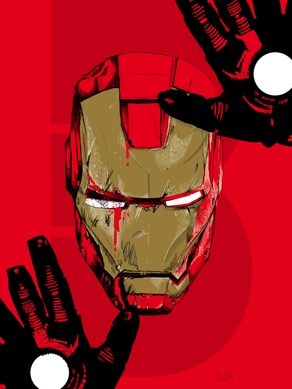 Iron Man 3 by  Chris Thornley