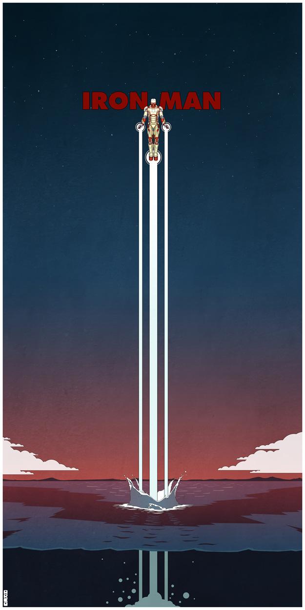Iron Man 3 by Matt Ferguson