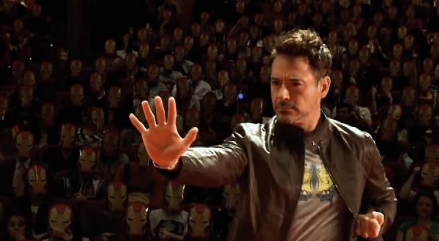 Iron Man 3 in Russia