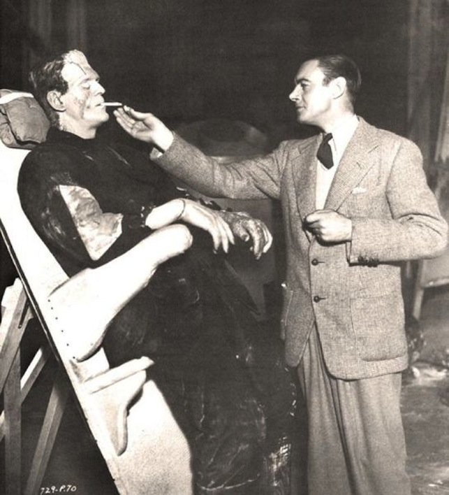 Frankenstein movies of the 1930s with Boris Karloff 03