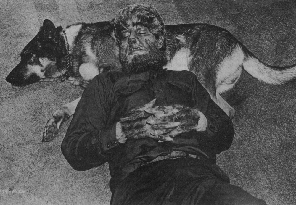 The Wolf Man and Frankenstein Meets The Wolf Man 01