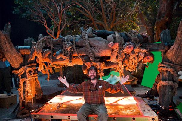 the hobbit behind-the-scenes