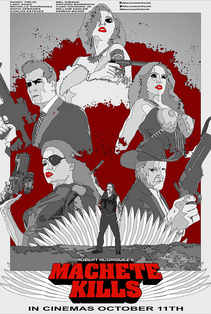 Machete Kills From Rafal Topolski