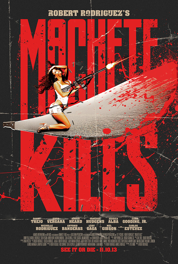 Machete Kills From Scott Woolston