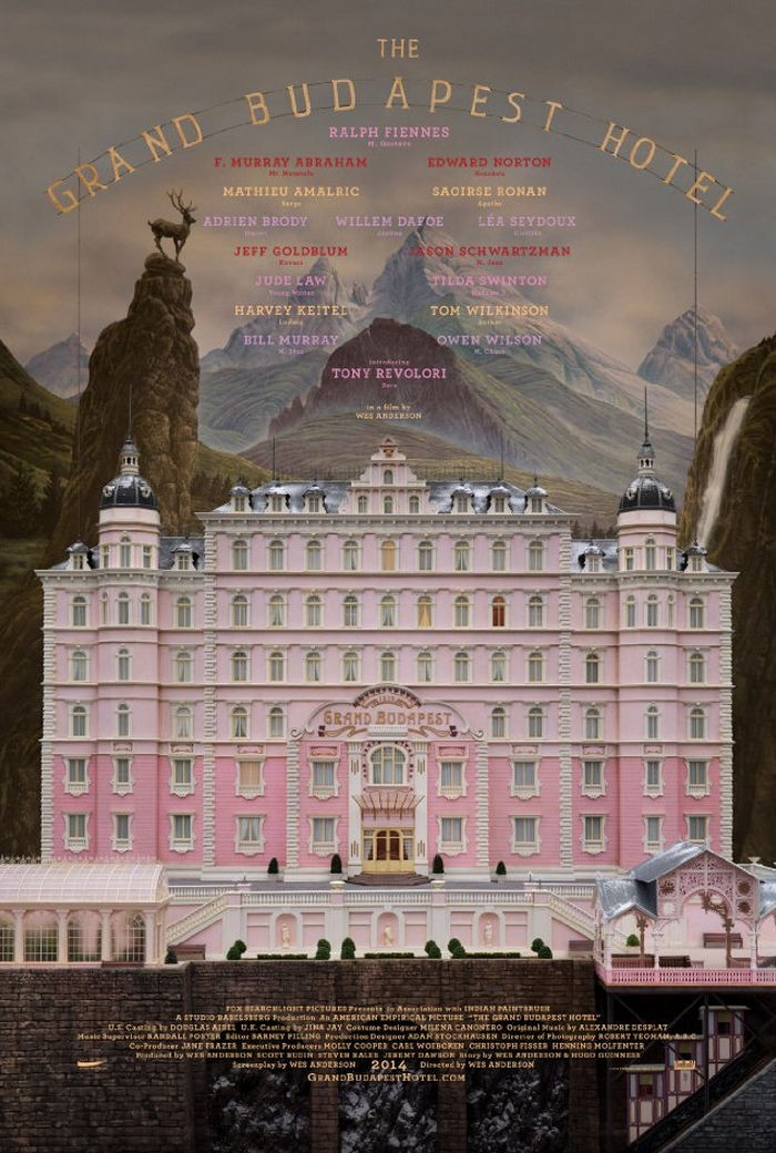The Grand Budapest Hotel poster A