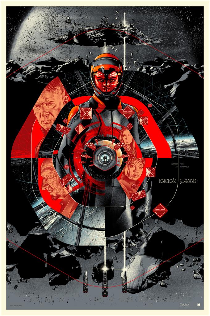 Ender's Game Mondo Poster