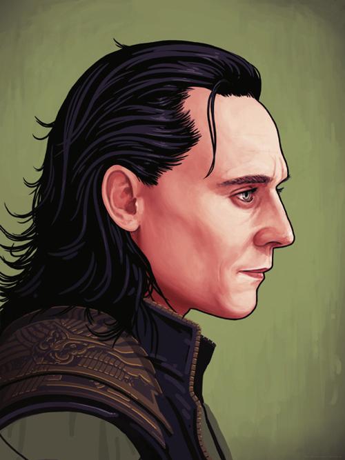 Mike Mitchell Loki Portrait