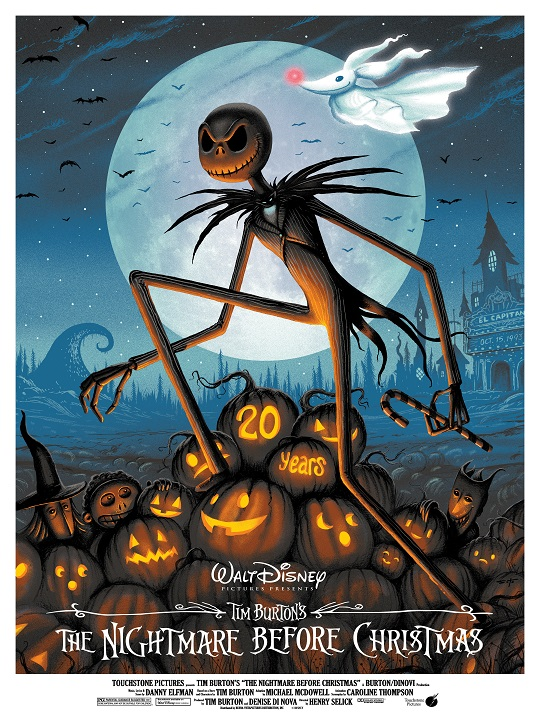 Nightmare before Christmas by Jeff Soto 01
