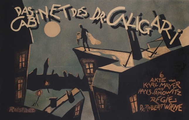 Dr Caligari poster