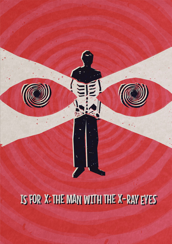 X The Man with the X-Ray Eyes v1