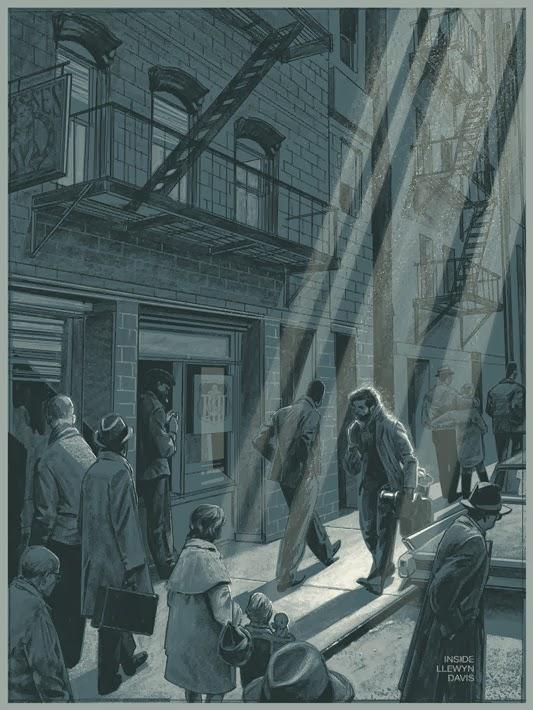 Inside-Llewyn-Davis-Mondo-Poster-by-Rich-Kelly