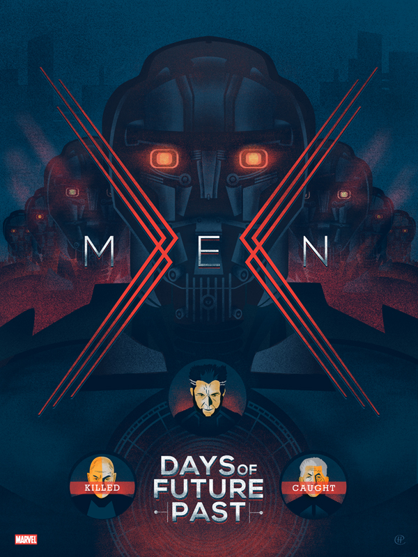 x-men days of future past by Harlan Elam