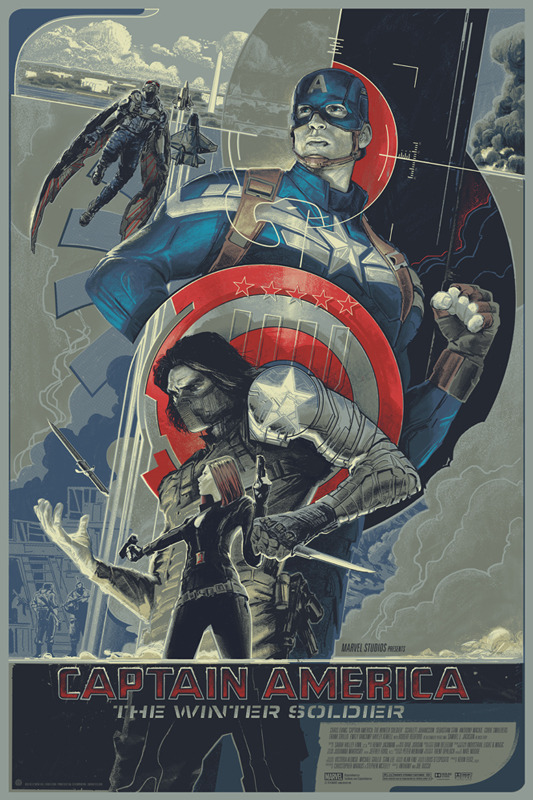 Captain America The Winter Soldier by Rich Kelly