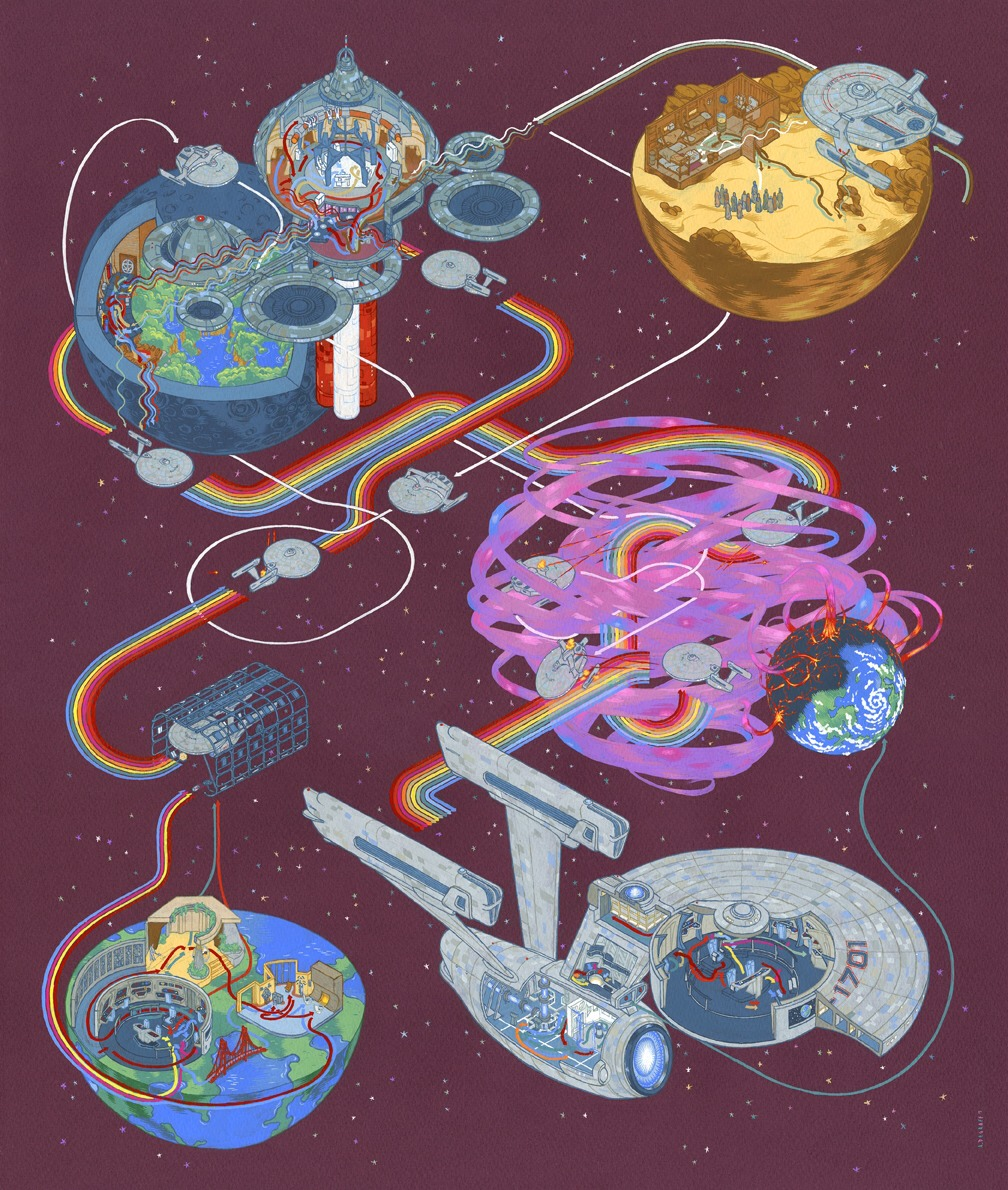 Cartography Star Trek The Wrath of Khan