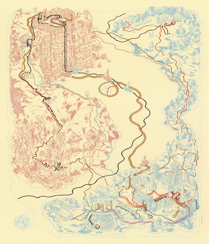 Cartography The Princess Bride