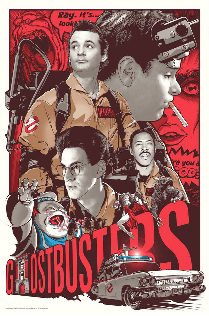 Ghostbusters-30th-by-Joshua-Budich