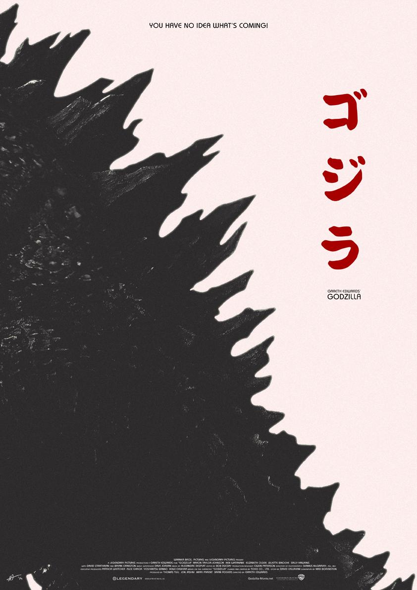 Godzilla by Arden Avett