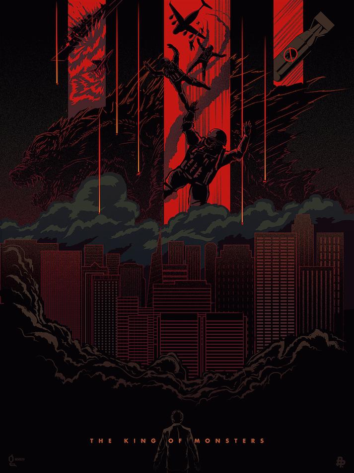 Godzilla by Peter Gutierrez