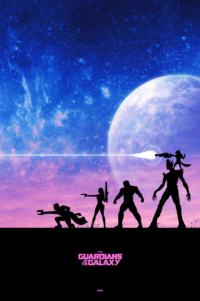 Guardians of the Galaxy by Matt Ferguson