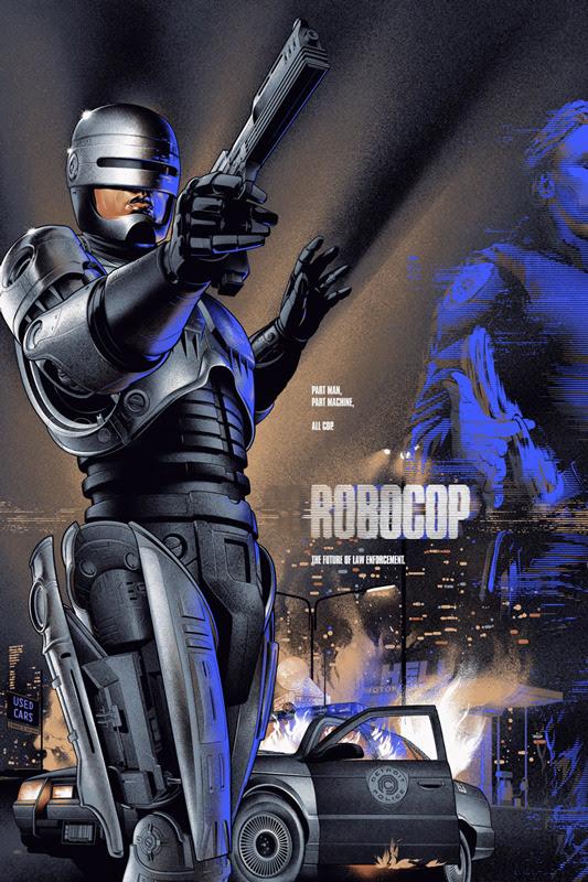 Robocop by Martin Ansin