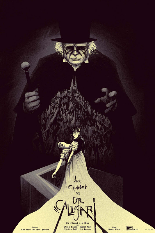 The Cabinet of Dr. Caligari by Kevin Tong