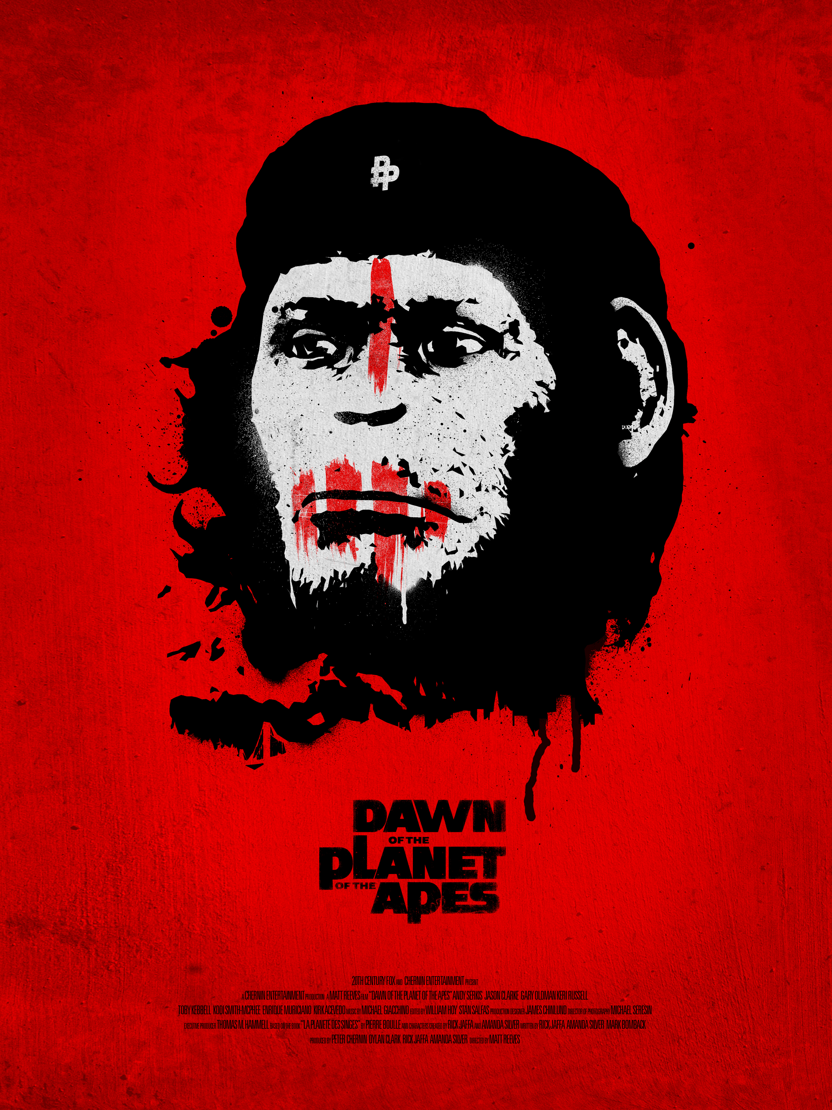Dawn of the planets of the apes by Andrew Swainson