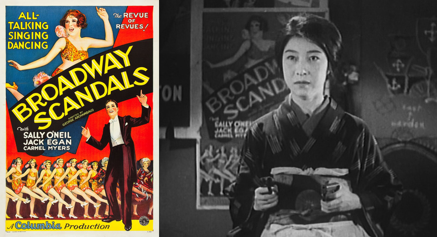 Poster for George Archainbaud's Broadway Scandals (1929) in That Night's Wife (1930)
