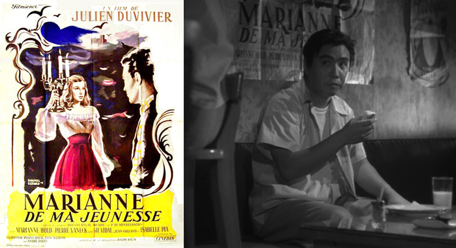 Poster for Julien Duvivier's Marianne de ma jeunesse (1955) in Early Spring (1956)