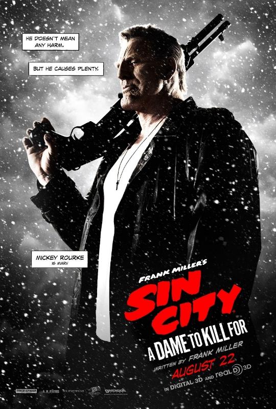 Sin City Mickey Rourke