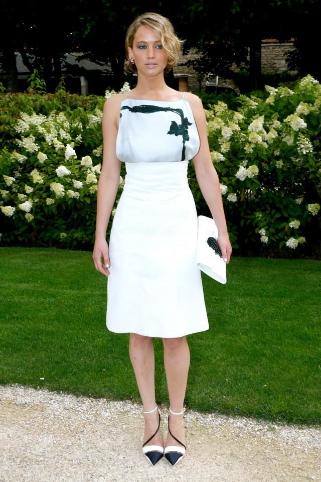 Dior couture Autumn-Winter 2014-15 Jennifer Lawrence