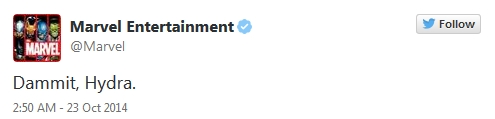 Avengers - Age of Ultron Tweet