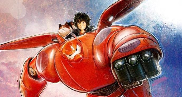 Big Hero 6 by Paul Shipper 690