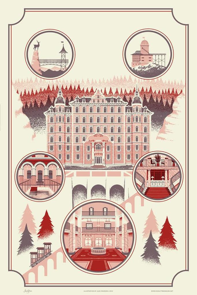 Alex Pearson - The Grand Budapest Hotel