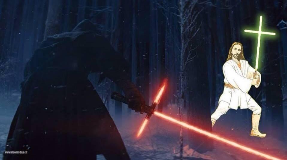 Star Wars Episode VII - lighsaber joke1