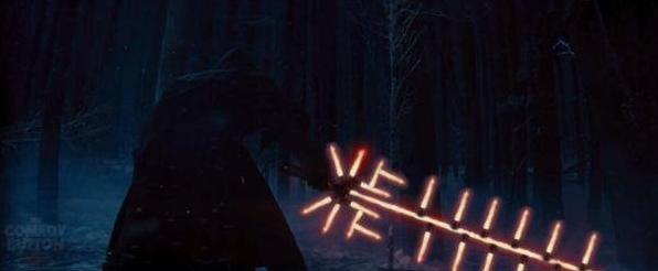Star Wars Episode VII - lighsaber joke2