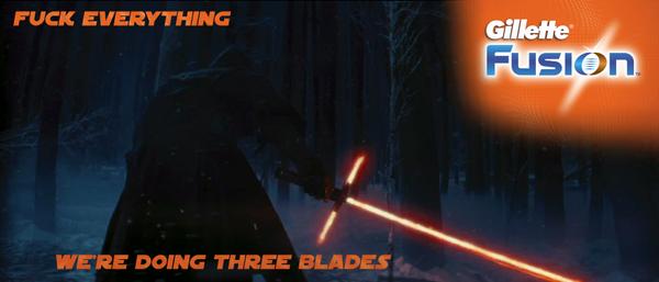 Star Wars Episode VII - lighsaber joke6