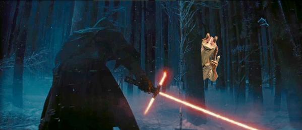 Star Wars Episode VII - lighsaber joke9