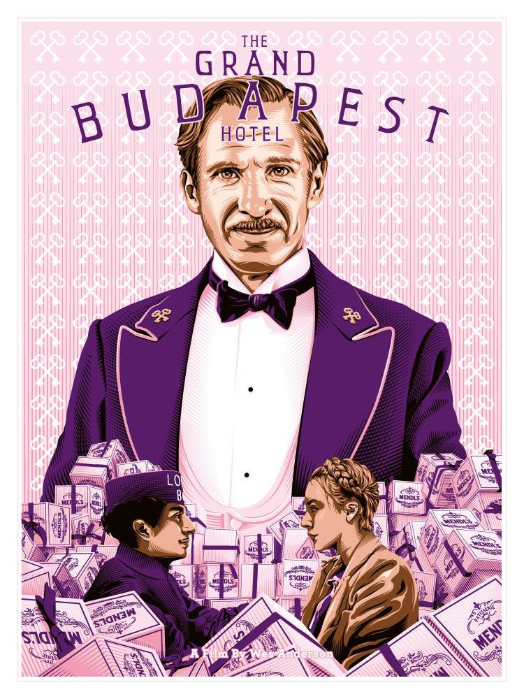 Tracie Ching - The Grand Budapest Hotel