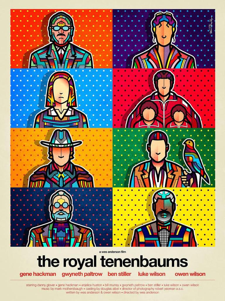 VanOrton Design - The Royal Tenenbaums