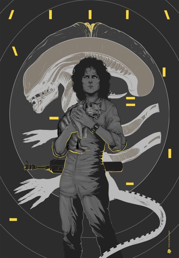 Alien-35th-anniversary-by-Berkay-Daglar