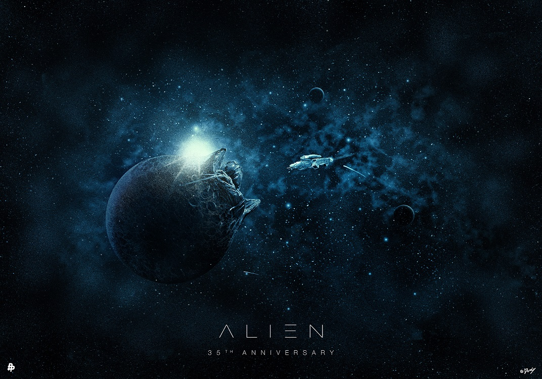 Alien-35th-anniversary-by-Doaly
